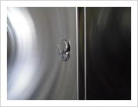 書類の漏洩防止対策、開閉専用のカギ付き